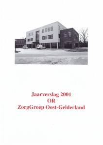 ZorgGroepOostGelderland - jaarverslag OR